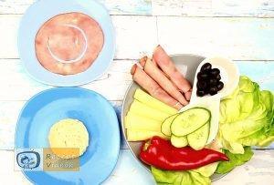 Szendvics rákok recept, szendvics rákok elkészítése 1. lépés