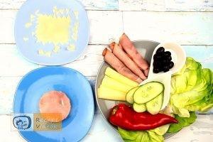 Szendvics rákok recept, szendvics rákok elkészítése 2. lépés