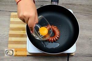 Virsli margaréták recept, virsli margaréták elkészítése 5. lépés