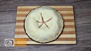 Pizza koszorú recept, pizza koszorú elkészítése 6. lépés