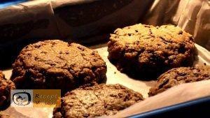 Csokis zabkeksz szendvics recept, csokis zabkeksz szendvics elkészítése 6. lépés