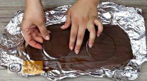Csokis láva süti recept, csokis láva süti elkészítése 1. lépés