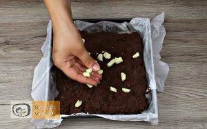 Csokis láva süti recept, csokis láva süti elkészítése 3. lépés