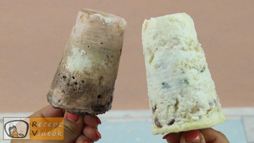 Gyümölcsös joghurtfagyi recept, gyümölcsös joghurtfagyi elkészítése - Recept Videók
