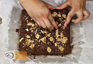 Csokis láva süti recept, csokis láva süti elkészítése 5. lépés
