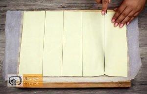 Mogyorókrémes minikiflik recept, mogyorókrémes minikiflik elkészítése 1. lépés