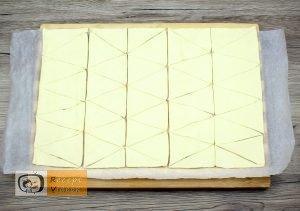 Mogyorókrémes minikiflik recept, mogyorókrémes minikiflik elkészítése 2. lépés