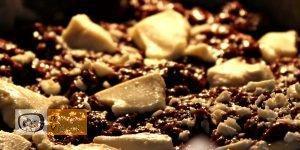 Csokis láva süti recept, csokis láva süti elkészítése 4. lépés