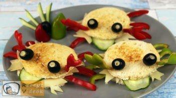 Szendvics rákok recept, szendvics rákok elkészítése - Recept Videók
