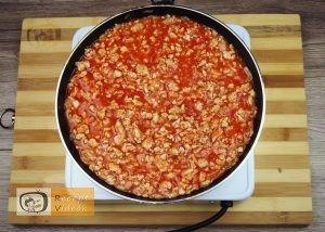 Darált hússal töltött padlizsán recept elkészítése 3. lépés