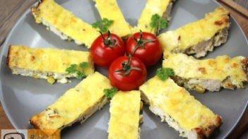 Kukoricás csirkemell recept, kukoricás csirkemell elkészítése - Recept Videók