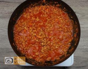 Ricottás lasagne recept, ricottás lasagne elkészítése 2. lépés