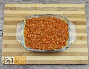 Ricottás lasagne recept, ricottás lasagne elkészítése 4. lépés