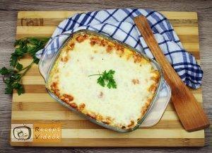 Ricottás lasagne recept, ricottás lasagne elkészítése - Recept Videók