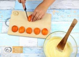 Sárgabarackos pite recept, sárgabarackos pite elkészítése 3. lépés