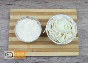 Hagymás rostélyos recept, hagymás rostélyos elkészítése 3. lépés