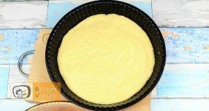 Sárgabarackos pite recept, sárgabarackos pite elkészítése 2. lépés