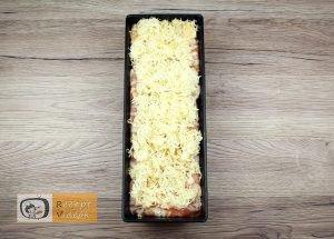 baconbe göngyölt túrós csusza recept elkészítése 5. lépés