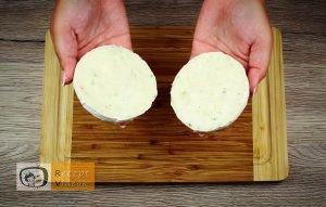 Töltött camembertes buci recept elkészítése 1. lépés