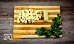 Sajttal töltött húsgolyó recept, sajttal töltött húsgolyó elkészítése 3. lépés
