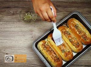 Bolognais hot dog recept, bolognais hot dog elkészítése 2. lépés