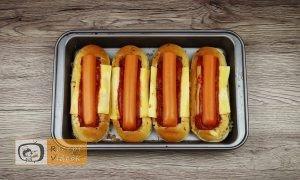 Bolognais hot dog recept, bolognais hot dog elkészítése 5. lépés