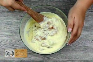 Tavaszi csirkealagút recept, tavaszi csirkealagút elkészítése 2. lépés