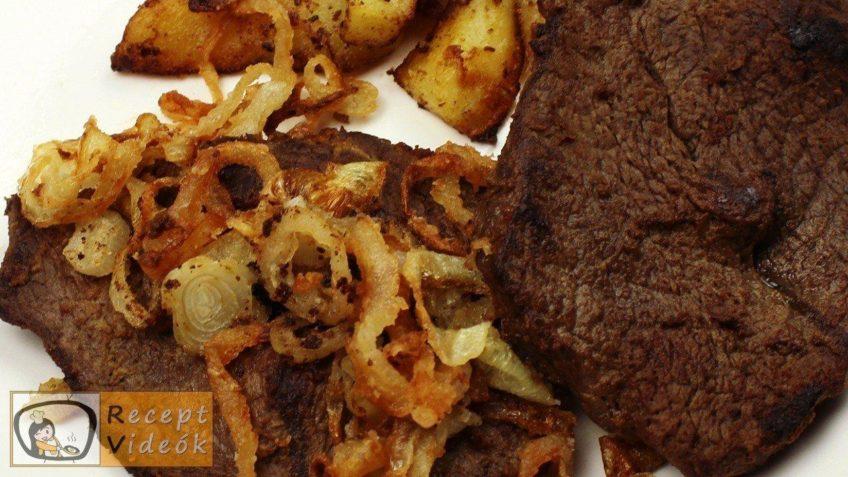 Hagymás rostélyos recept, hagymás rostélyos elkészítése - Recept Videók