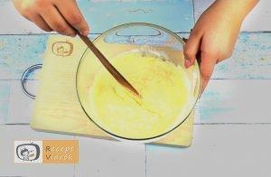 Sárgabarackos pite recept, sárgabarackos pite elkészítése 1. lépés
