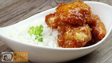 Egyszerű mézes szezámmagos csirke recept - Recept Videók