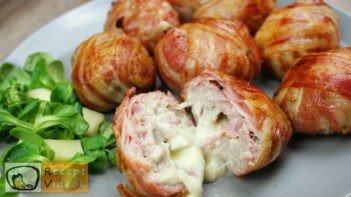Sajttal töltött húsgolyó recept, sajttal töltött húsgolyó elkészítése - Recept Videók