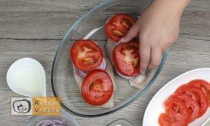 Mozzarellás paradicsomos csirke recept elkészítése 8. lépés