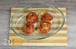 Mozzarellás paradicsomos csirke recept elkészítése 11. lépés