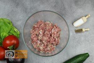 Házi hamburger recept, házi hamburger elkészítése 1. lépés