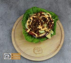 Házi hamburger recept, házi hamburger elkészítése 5. lépés