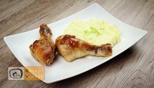 Mézes-mustáros csirke recept, mézes-mustáros csirke elkészítése - Recept Videók