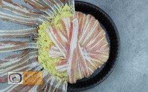 Bacontorta recept, bacontorta elkészítése 4. lépés
