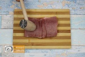 Dupla baconös karaj recept, dupla baconös karaj elkészítése 1. lépés