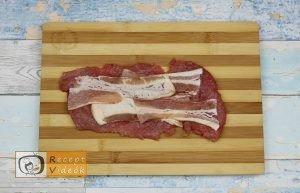 Dupla baconös karaj recept, dupla baconös karaj elkészítése 3. lépés