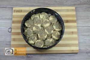 Aranygaluska recept, aranygaluska elkészítése 5. lépés