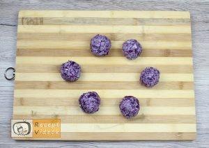 Lilakáposzta fasírt recept, lilakáposzta fasírt elkészítése 4. lépés