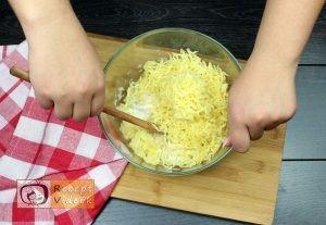 sajttal töltött krumpli tallér recept elkészítése 2. lépés