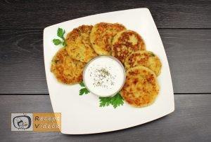 sajttal töltött krumpli tallér recept elkészítése - Recept Videók