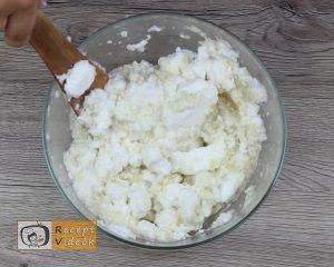 Karfiol rudacskák recept, karfiol rudacskák elkészítése 4. lépés