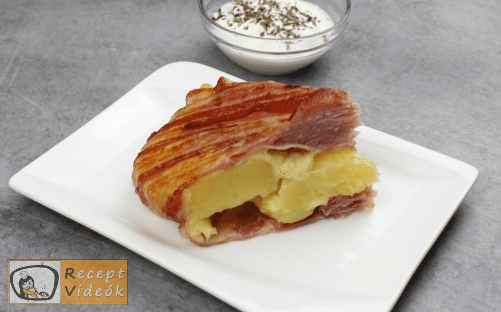 Bacontorta recept, bacontorta elkészítése - Recept Videók