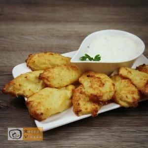 Karfiol rudacskák recept, karfiol rudacskák elkészítése - Recept Videók