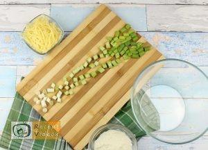Töltött krumpli recept, töltött krumpli elkészítése 2. lépés