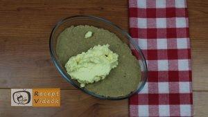 gesztenyekocka (sütés nélkül) recept, gesztenyekocka (sütés nélkül) elkészítése 3. lépés