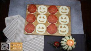 Halloweeni süti recept (töklámpa ropogós) 3. lépés