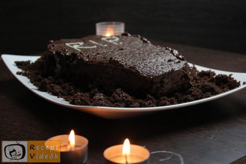 Koporsó torta